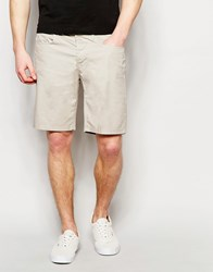 United Colors Of Benetton 100 Cotton Shorts Stone Beige