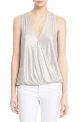 Women's Parker 'Jules' Surplice Sleeveless Top