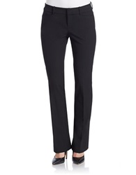 Lord And Taylor Petite Bootcut Dress Pants Black