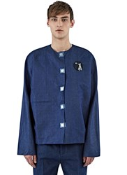 J.W.Anderson Denim Tool Patch Shirt Indigo