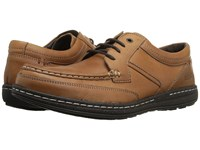 Hush Puppies Vines Victory Dark Brown Leather Men's Shoes