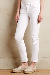 Level 99 Lily Ankle Jeans White