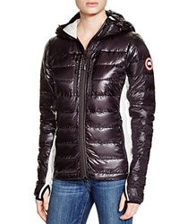 Canada Goose Hybridge Light Hooded Jacket Black