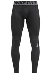 Nike Performance Pro Warm Tights Black Dark Grey White