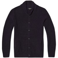 A.P.C. Waves Cardigan Blue
