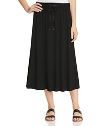 Eileen Fisher Drawstring Midi Skirt Black