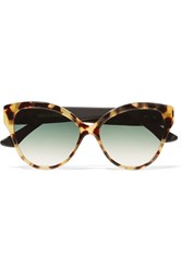 Cutler And Gross Tequila Sunrise Cat Eye Acetate Sunglasses Tortoiseshell