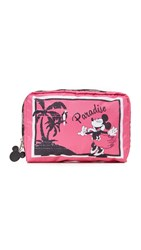 Le Sport Sac Disney X Lesportsac Xl Rectangular Cosmetic Case Minnie Paradise