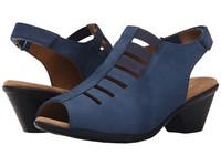 Softspots Faye Denim Otago Nubuck Women's 1 2 Inch Heel Shoes Blue