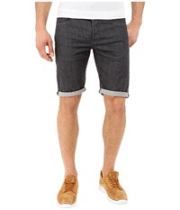 G Star 3301 Deconstructed Shorts In Accel Grey Stretch Denim Rinsed Accel Grey Stretch Denim Rinsed Men's Shorts Black