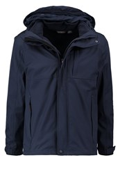 Regatta Northmore 2In1 Hardshell Jacket Navy Dark Blue