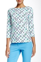 J. Mclaughlin Wavesong Tee Multi