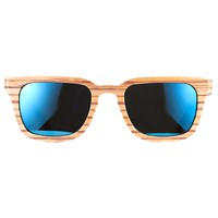 Mz Atelier Eyewear And Accessories Chilltown X Bamboo Wood Sunglasses Green