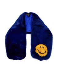 Anya Hindmarch Mink Smiley Scarf