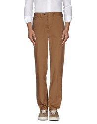 Cotton Belt Trousers Casual Trousers Men Camel