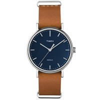 Timex Weekender Fairfield 37Mm Watch Brown