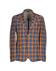 Maestrami Suits And Jackets Blazers Men Brown