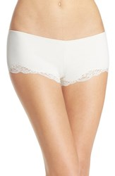 Only Hearts Club Women's Only Hearts 'Delicious With Lace' Hipster Boyshorts Creme