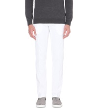 Tiger Of Sweden Rodman Slim Fit Tapered Chinos White