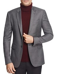 Paul Smith Kensington Micro Houndstooth Slim Fit Sport Coat Navy Grey Burgundy