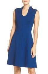Adrianna Papell Women's Ponte Fit And Flare Dress