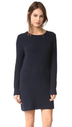 525 America Crew Neck Sweater Dress Navy