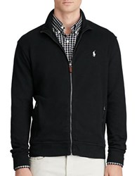 Polo Ralph Lauren Ribbed Cotton Full Zip Jacket Polo Black