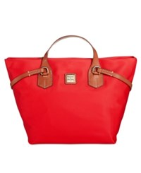 Dooney And Bourke Windham Leighton Tote Red