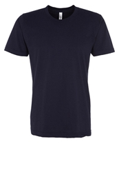 American Apparel Basic Tshirt Navy Dark Blue