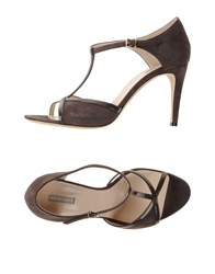 Giorgio Armani Footwear Sandals Women Dark Brown