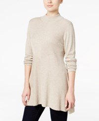 Styleandco. Style Co. Mock Turtleneck Ribbed Sweater Only At Macy's Hammock Heather
