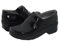 Klogs Footwear Naples Black Patent Women's Clog Shoes