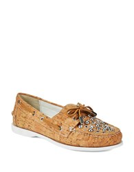 Donald J Pliner Ibiza Cork Loafers