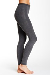 Shimera Fleece Lined Footless Tights Gray