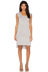 Velvet By Graham And Spencer Arya Cozy Heather Dress Gray