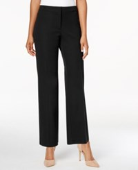 Charter Club Wide Leg Cropped Pants Only At Macy's Deep Black