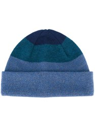 Paul Smith Ps By Tonal Folded Beanie Blue