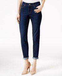Charter Club Lyon Wash Boyfriend Jeans Only At Macy's Greenwich Wash