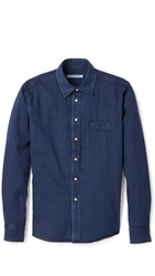Brooklyn Tailors Indigo Denim Shirt