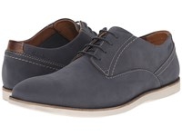 Clarks Franson Plain Blue Nubuck Men's Lace Up Wing Tip Shoes