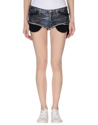 Andrew Mackenzie Denim Denim Shorts Women Blue