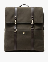 M S Backpack In Pine Green