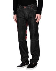 Kejo Denim Denim Trousers Men Black