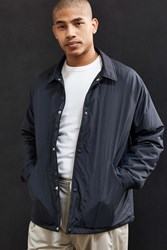 Urban Outfitters Uo Dugout Coaches Jacket Black