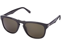 Electric Eyewear Leadbelly Gloss Black M Grey Sport Sunglasses Gray