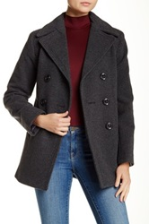 Kenneth Cole Wool Blend Peacoat Gray