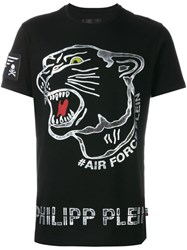 Philipp Plein 'Crooked' T Shirt Black