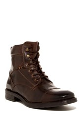 Giorgio Brutini Brisk Cap Toe Boot Brown