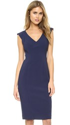 Black Halo Mattia Sheath Dress Pacific Blue