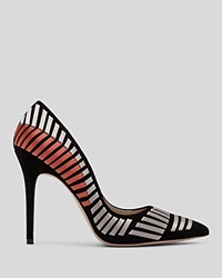 Reiss Pointed Toe Pumps Alex Woven Ribboncourt High Heel